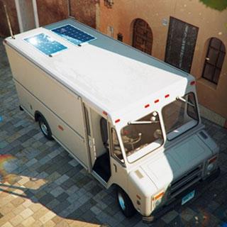 Panneaux solaires ThermoLite pour camions de livraison classe 4-6