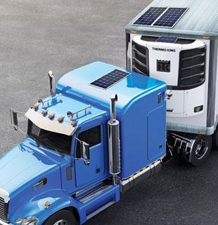 Panneaux solaires ThermoLite pour tracteurs Classe 8
